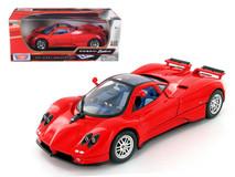 1/18 Motormax Pagani Zonda C12 Red Diecast Car Model
