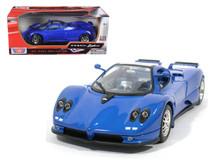 1/18 Motormax Pagani Zonda C12 Blue Diecast Car Model