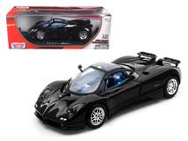 1/18 Motormax Pagani Zonda C12 Black Diecast Car Model