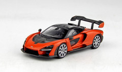 1/64 TSM Mini GT McLaren Senna (Orange) Diecast Car Model