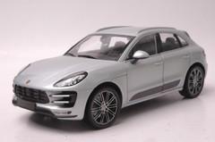 1/18 Minichamps Porsche Macan Turbo (Metallic Silver) Diecast Car Model Limited 504