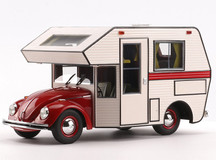1/18 Schuco Volkswagen VW Kaefer Beetle RV Camper (Red) Diecast Car Model