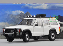 1/18 Dealer Edition Classic Jeep Cherokee (White)