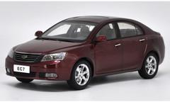 1/18 Dealer Edition Geely EC7 (Red) Diecast Car Model