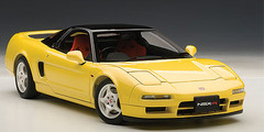 1/18 AUTOart HONDA NSX TYPE R 1992 (INDY YELLOW PEARL) Diecast Car Model 73297