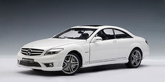1/18 AUTOart Mercedes-Benz CL63 AMG (White)