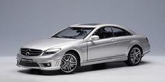 1/18 AUTOart Mercedes-Benz Mercedes MB CL63 AMG (Silver) Diecast Car Model 76168