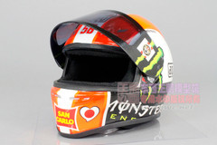 1/2 Minichamps Marco Simoncelli AGV Helmet Model Limited 999 Pieces