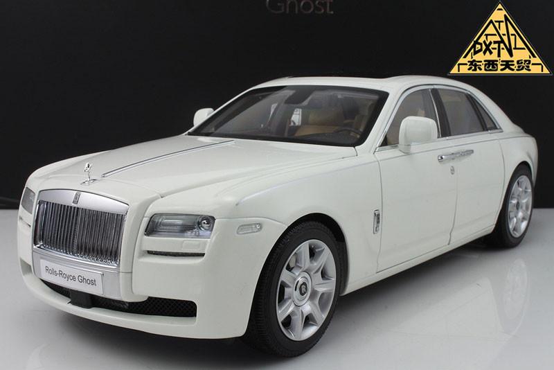 1/18 Kyosho Rolls-Royce Ghost (White) - LIVECARMODEL.com