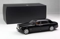 1/18 Kyosho Rolls-Royce Phantom Extended Wheelbase (EWB) (Black)