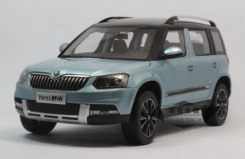 1 18 skoda yeti blue. Black Bedroom Furniture Sets. Home Design Ideas