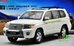 1/18 Toyota Land Cruiser (White)