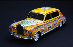 1/18 Paragon / Dealer Edition 1964 John Lennon Rolls-Royce Phantom V Diecast Car Model
