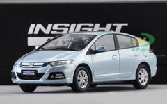 1/18 Honda Insight Hybrid (Silver Blue)