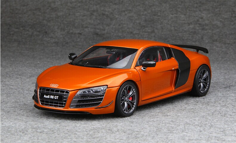 Audi Collection AUDI R GT ORANGE LIVECARMODELcom - Audi collection