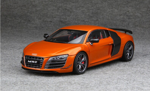 audi collection audi  gt orange livecarmodelcom