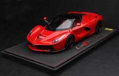 NEW BBR HANDMADE RESIN 1/18 FERRARI LAFERRARI RED W/ BLACK RIMS! LIMITED 60!!!