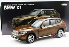 KYOSHO 1/18 BMW X1 (BROWN) DIECAST CAR MODEL