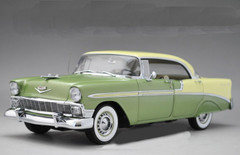 1/18 PrecisionMiniatures PM 1956 CHEVROLET BEL AIR BELAIR (GREEN) MODEL