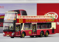 1/43 AK LONDON BIG BUS TOURS DIECAST MODEL (NO HARDTOP VERSION)