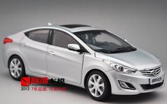 1/18 HYUNDAI ELANTRA (SILVER) DIECAST CAR MODEL