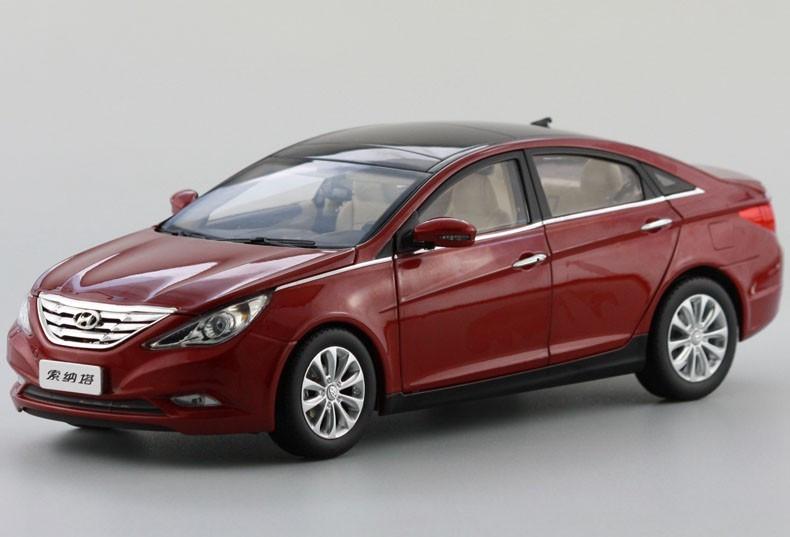 1 18 Hyundai Sonata Red Diecast Car Model Livecarmodel Com