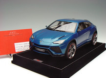 1/18 MR RESIN HANDMADE LAMBORGHINI URUS (BLUE) MODEL