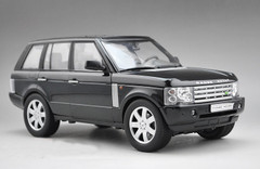 1/18 LAND ROVER RANGE ROVER (BLACK) DIECAST CAR MODEL
