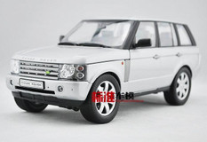 1/18 LAND ROVER RANGE ROVER (SILVER) DIECAST CAR MODEL