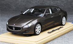 BBR 1/18 MASERATI QUATTROPORTE (BROWN) MODEL LIMITED 100