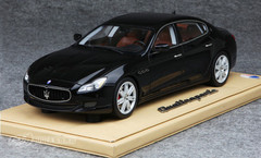 BBR 1/18 MASERATI QUATTROPORTE (BLACK) MODEL LIMITED 100
