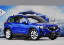 DEALER 1/18 MAZDA CX-5 (BLUE) DIECAST CAR MODEL