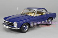 1/18 MERCEDES-BENZ 1963 230SL (BLUE) CAR MODEL