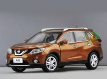 1/18 NISSAN X-TRAIL (ORANGE) DIECAST CAR MODEL