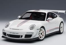 1/18 AUTOART PORSCHE 911 997 GT3 RS 4.0 WHITE W/ WHITE RIM 78147 MODEL