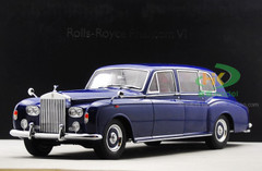 1/18 1967 ROLLS-ROYCE PHANTOM V HARDTOP (BLUE) Diecast Car Model