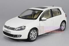1/18 VOLKSWAGEN VW GOLF VI 6 (WHITE) DIECAST CAR MODEL
