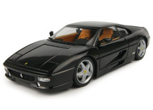 KYOSHO 1/18 1995 FERRARI F355 BERLINETTA BLACK DIECAST CAR MODEL