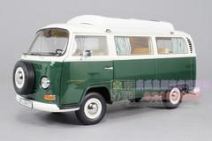 1/18 SCHUCO VOLKSWAGEN VW T2A CAMPINGBUS (GREEN) DIECAST MODEL