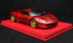 BBR RESIN 1/18 FERRARI 458 ITALIA CHINA DRAGON EDITION! LIMITED 30!