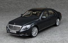 1/18 MERCEDES-BENZ S-CLASS S-KLASSE W222 (DARK BLUE) CAR MODEL!