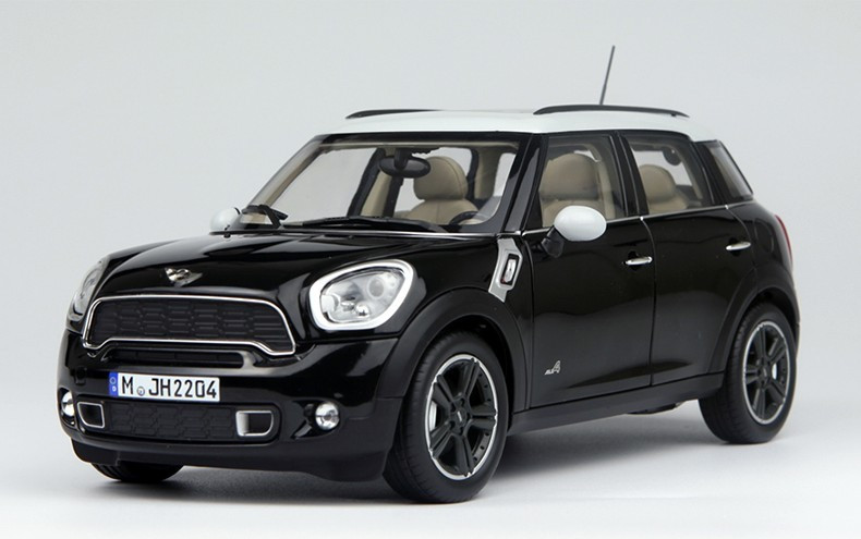 1 18 Mini Cooper Countryman Black Car Model Livecarmodel Com