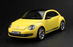 KYOSHO 1/18 VOLKSWAGEN VW BEETLE (YELLOW) DIECAST CAR MODEL