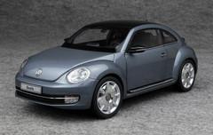 KYOSHO 1/18 VOLKSWAGEN VW BEETLE (DARK GREY BLUE) CAR MODEL