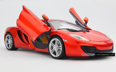1/18 MINICHAMPS MCLAREN MP4-12C (ORANGE) DIECAST CAR MODEL!