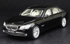 KYOSHO 1/18 BMW 760Li (F02) (BLACK) DIECAST CAR MODEL!
