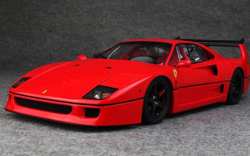 Kyosho 1 12 Ferrari F40 Lm Wing Red 08602rlm Diecast