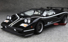KYOSHO 1/12 LAMBORGHINI COUNTACH LP500R (BLACK) DIECAST MODEL!