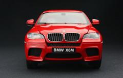 KYOSHO 1/18 BMW X6M X6 M (RED) DIECAST CAR MODEL!