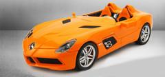 1/18 MINICHAMPS MERCEDES-BENZ SLR STIRLING DIECAST CAR MODEL!